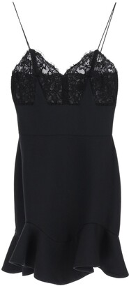 Alexander McQueen Lace Top Mini Dress
