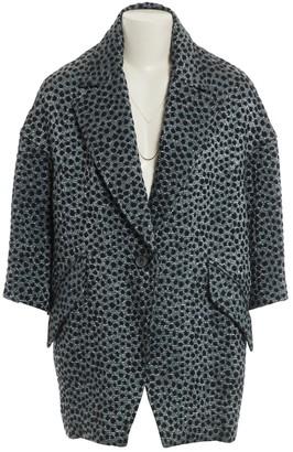 Isabel Marant Silver Cotton Coats