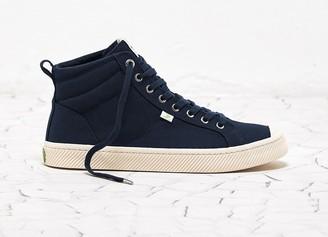 Cariuma OCA High Navy Canvas Sneaker Men