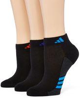 adidas 3-pk. ClimaLite Superlite Low-Cut Socks