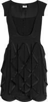Cleo folded drape dress