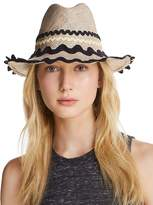 Exquisite J Packable Ric Rac-Trim Fedora