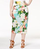 Melissa McCarthy Trendy Plus Size Midi Pencil Skirt