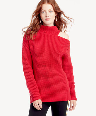 Astr Women's Sepulveda Sweater In Color: Cherry Red Size XS From Sole Society