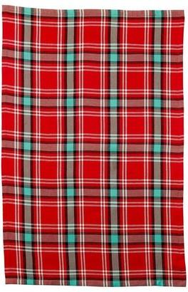 Indigo Cabin Fever Tea Towel