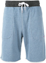 MAISON KITSUNÉ tie-waist track shorts - men - Cotton - S