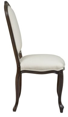 Ashley Solid Wood Dining Chair Duralee Furniture Body Fabric: Addison Putty