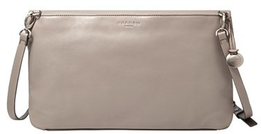 Skagen 'Ella' Leather Foldover Crossbody Bag