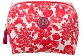 Tory Burch Floral Print Cosmetic Bag