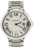 Cartier Ballon Bleu Ladies Stainless Steel Roman Numeral 28mm W69010Z4