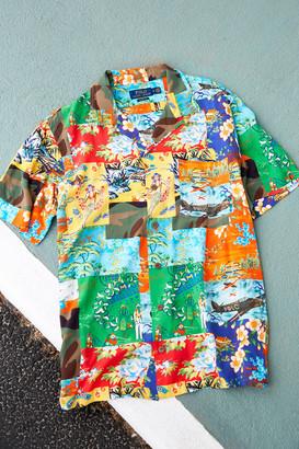 Polo Ralph Lauren Laguna Patchwork Short Sleeve Button-Down Shirt