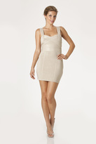 JS Boutique 263733 Fitted Crisscross Cocktail Dress