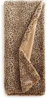 Dian Austin Couture Home King Snow Leopard Faux-Fur Throw