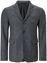 Jigsaw Washed Wool Notch Jacket
