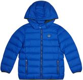Armani Junior Hooded Down Puffer Jacket