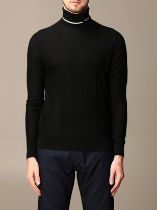 Emporio Armani Sweater Turtleneck In Virgin Wool