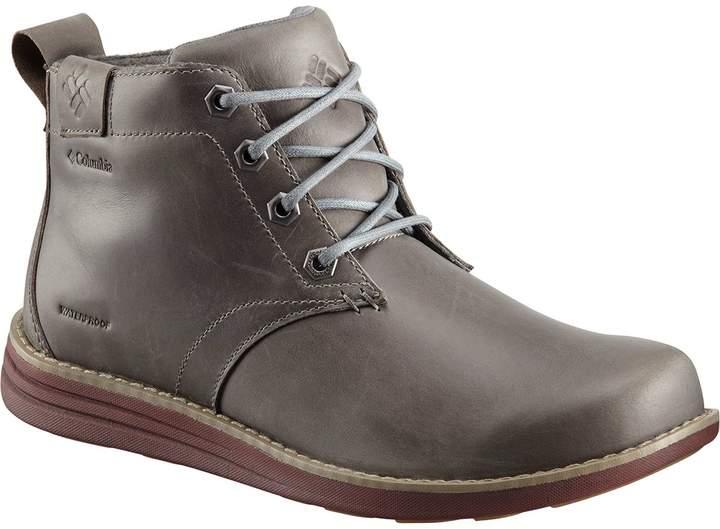 Columbia Irvington Leather Chukka Waterproof Boot - Men's