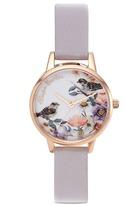 Olivia Burton 'English Garden' print 30mm watch