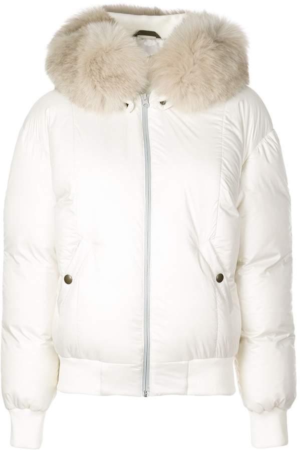 Mr & Mrs Italy short puffer jacket