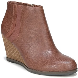 Dr. Scholl's Patch Wedge Bootie