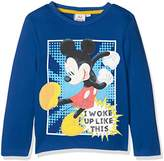 Disney Boy's Mickey Mouse Woke up Like This T-Shirt