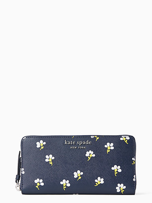 Kate Spade Cameron Daisy Toss Large Continental Wallet