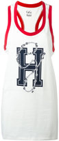 Tommy Hilfiger oversized logo vest - women - Cotton - L