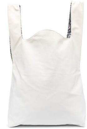 10 Corso Como Faux-Leather Tote Bag