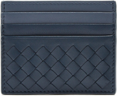Bottega Veneta Intrecciato bi-colour leather cardholder