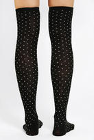 Urban Outfitters Polka Dot Over-The-Knee Sock