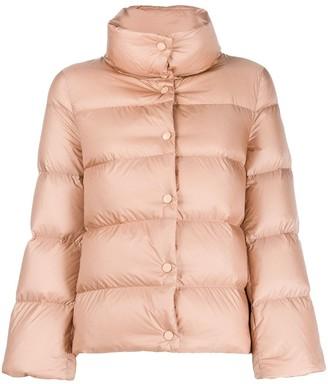 Moncler Button-Up Puffer Jacket
