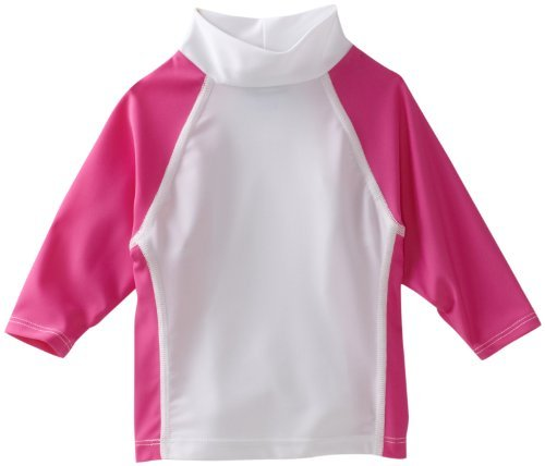 Flap Happy Baby-girls Infant Colorblock Rash Guard Shirt