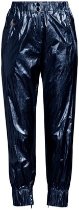 Robert Rodriguez Olympia Metallic Cropped Track Pants