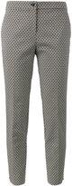 Etro Micro jacquard capri cropped trousers - women - Cotton/Polyamide/Polyester/Spandex/Elastane - 42