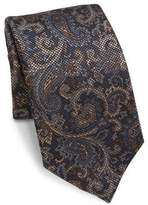Saks Fifth Avenue COLLECTION Antique Pai Silk Tie