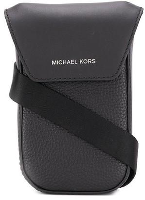 Michael Kors Logo Stamp Messenger Bag