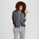 Xhilaration Women's Sleep Sweatshirt Black