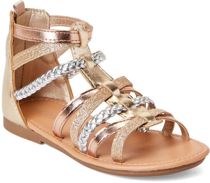 37451842475b3 Toddler Girls) Metallic Fenna Gladiator Sandals