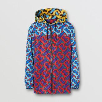 Burberry Monogram Print ECONYL Hooded Jacket