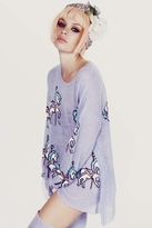 Wildfox Couture Carousel Ponies Ringo Sweater in Lightning