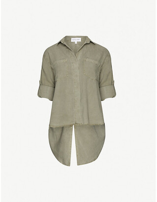 Bella Dahl Split-back woven shirt