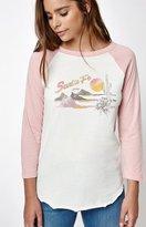 La Hearts Sante Fe 3/4 Sleeve Raglan T-Shirt