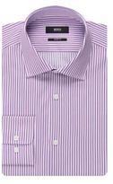 Hugo Boss Marley US Sharp Fit, Cotton Dress Shirt 15.5/R Purple