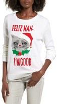 Ten Sixty Sherman Feliz Nah I'm Good Intarsia Sweater