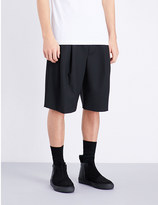 McQ by Alexander McQueen Mid-rise woven shorts