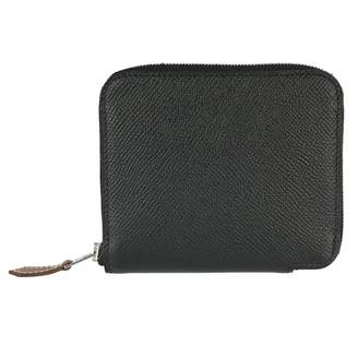 Hermes Black Leather Purses, wallets & cases