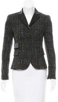 Akris Sequined Tweed Blazer