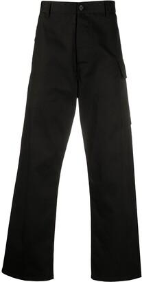 Marni High-Waisted Straight Leg Trousers