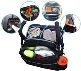 Johnnyhw The Original 5-In-1 Insulated Stroller Bag And Backseat Organizer Keeps Drinks Cool With A LifeLong Promise,Black