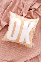 Urban Outfitters Ok Throw Pillow